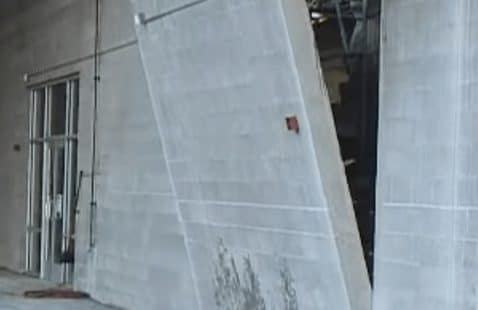 How to cut a space in a concrete wall for a door