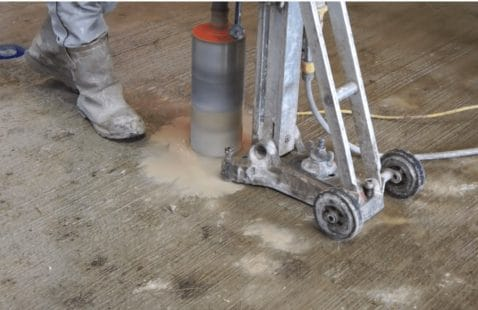 What is concrete core drilling?